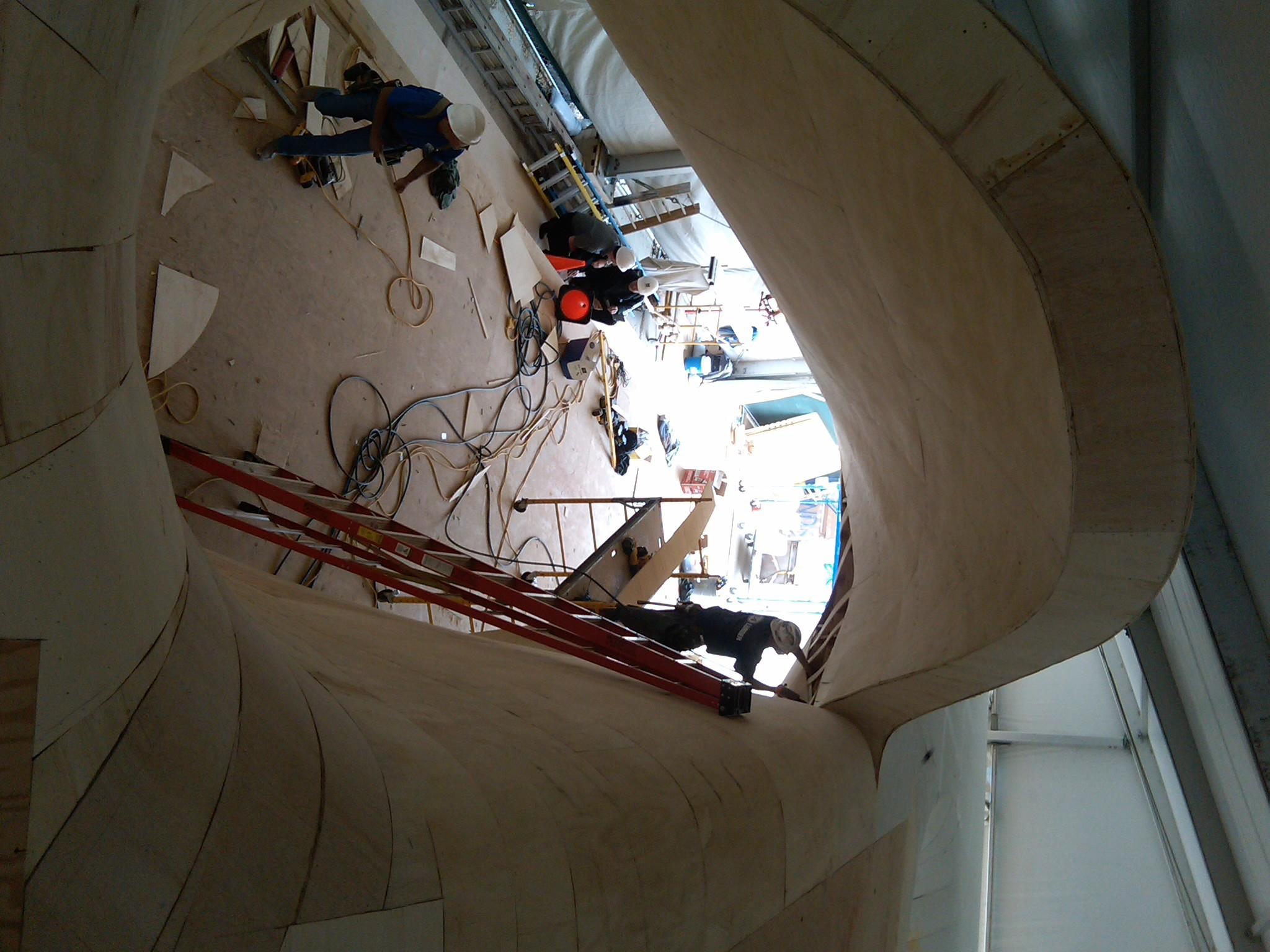 Structural Engineer - Rockey Structures  Design Architect - Ben van Berkel, UN Studio  Architect of Record - Garofalo Architects  Chicago Art Installation