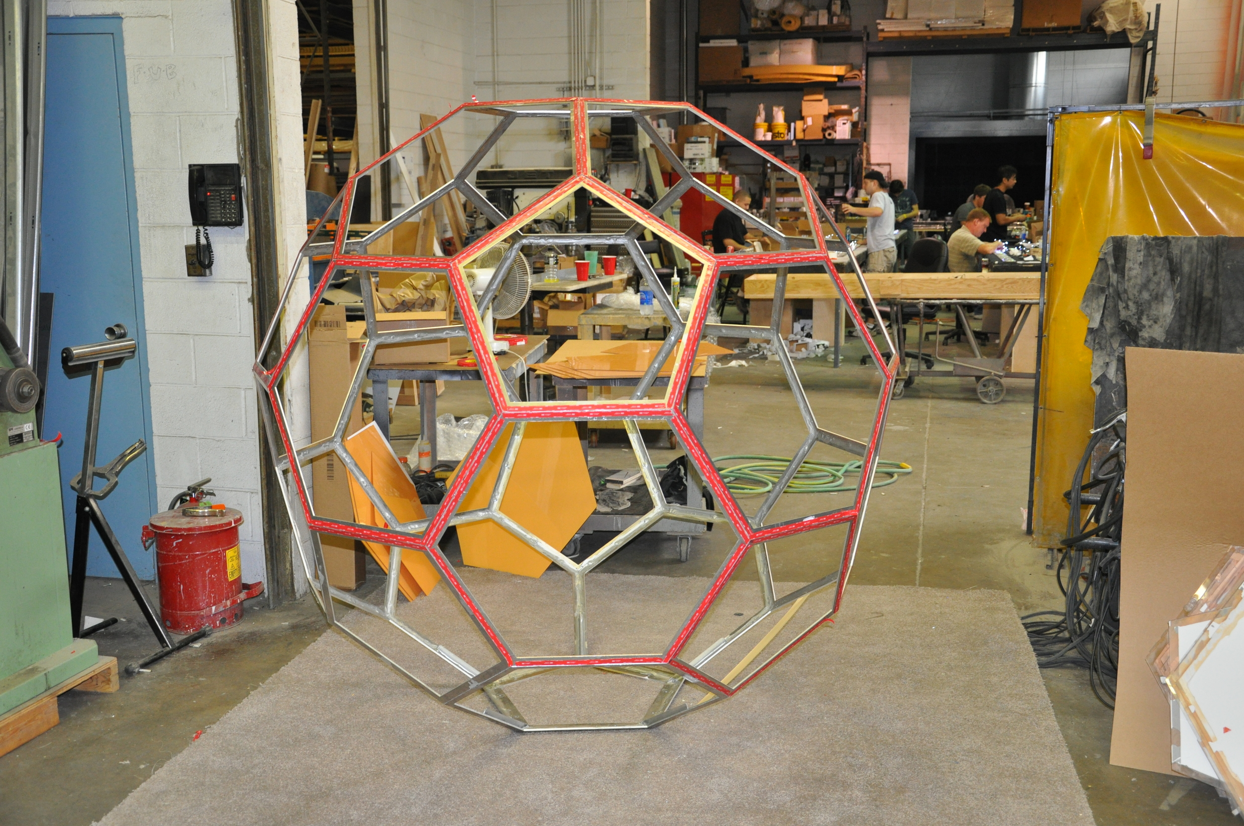 Structural Engineer - Rockey Structures  Artist - Spencer Finch  Long Island Art Installation