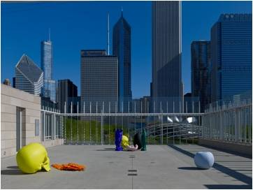 Structural Engineer - Rockey Structures  Artist - Katharina Fritsch  Chicago Art Installation