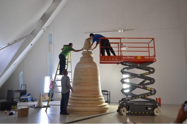 Structural Engineer - Rockey Structures  Artist - Steven Badgett  Toronto Art Installation