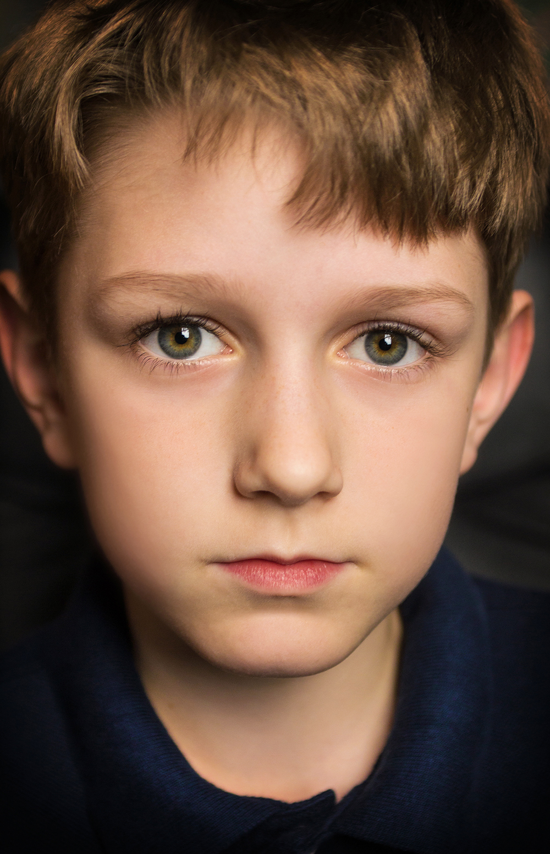 Kids Acting Headshot for Charlie Tacker shot by Best of Boston Kids Photography Headshot Photographer Erica Derrickson