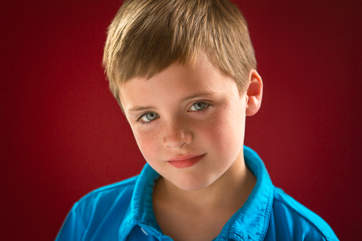 Kids Acting Headshots for Cameron shot by best Kids Headshot photographer in Boston Erica Derrickson