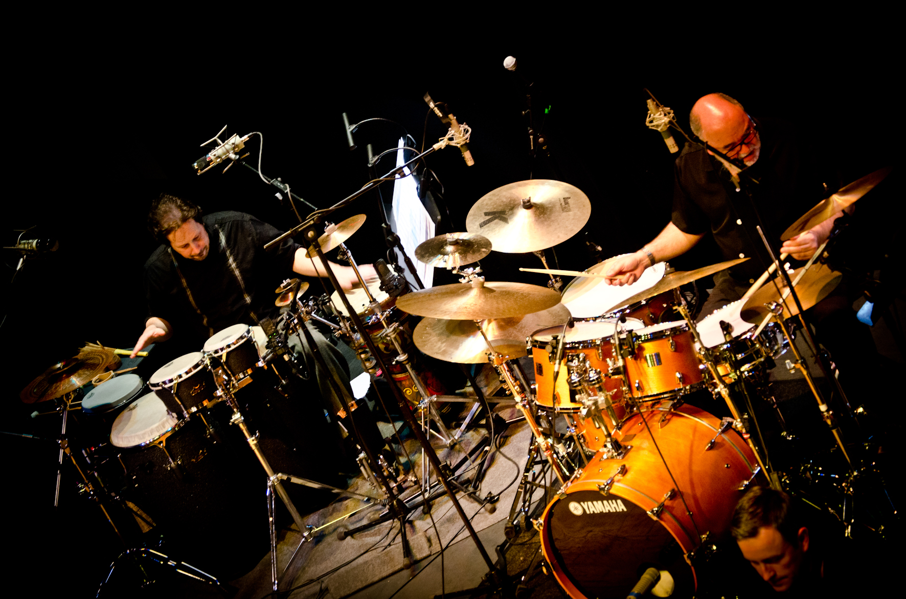 Live with Peter Erskine and the Scottish National Jazz Orchestra in Edinburgh/Scotland.