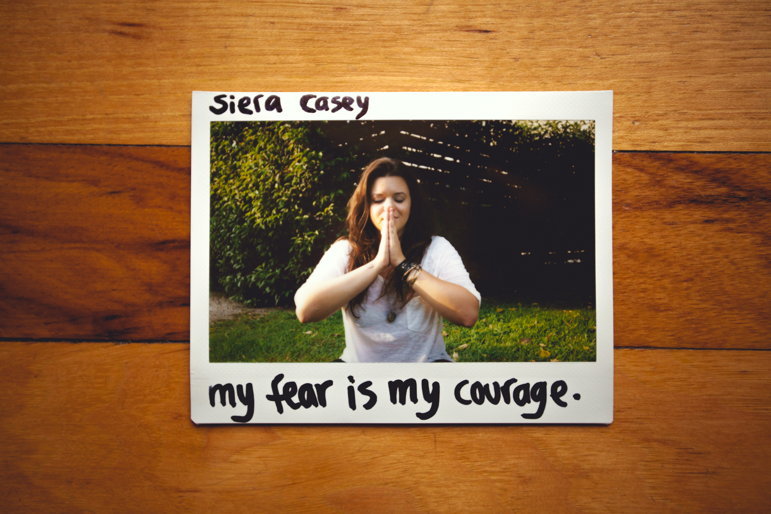 My Fear is my Courage