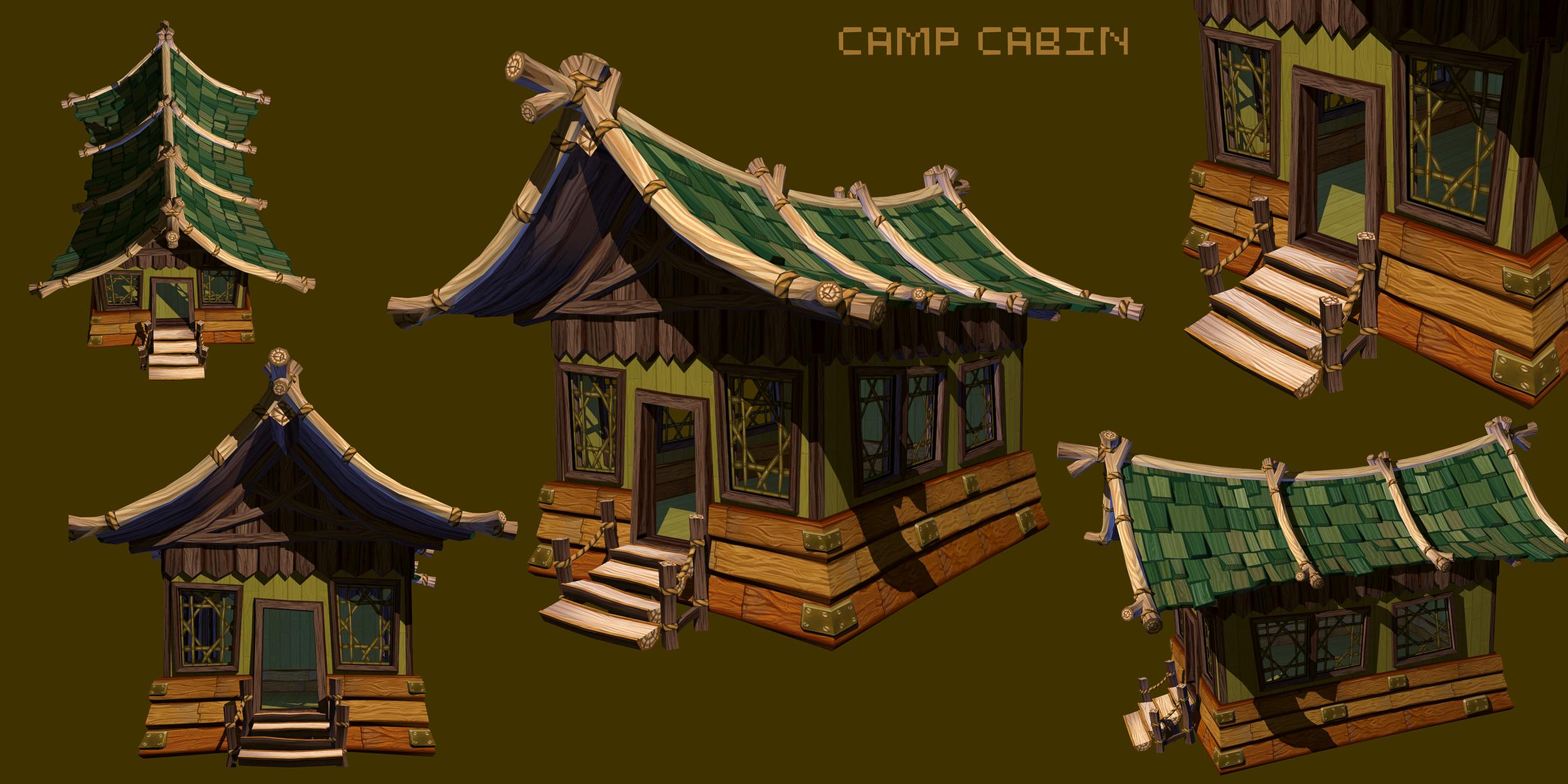 Psychonauts2 Prototype - Cabin