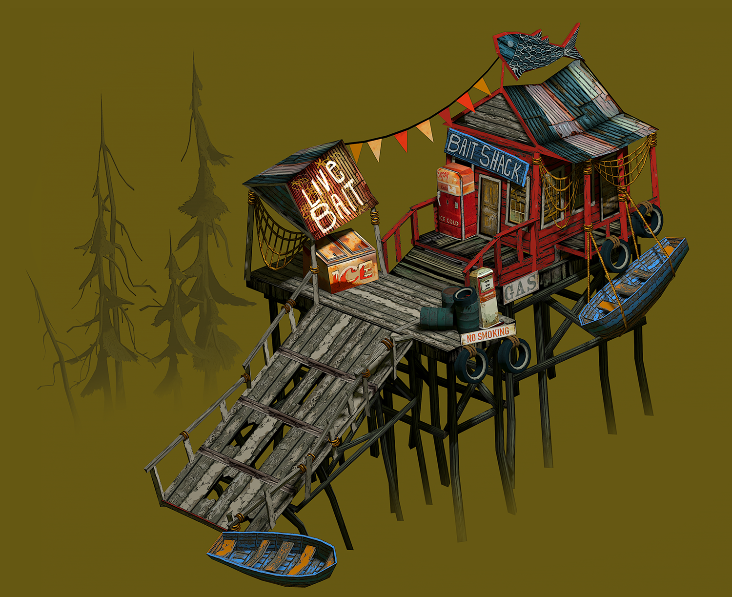 Flame In The Flood - Bait Shack