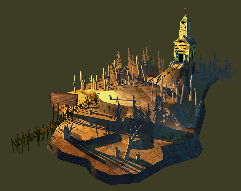 Flame In The Flood - Church Island