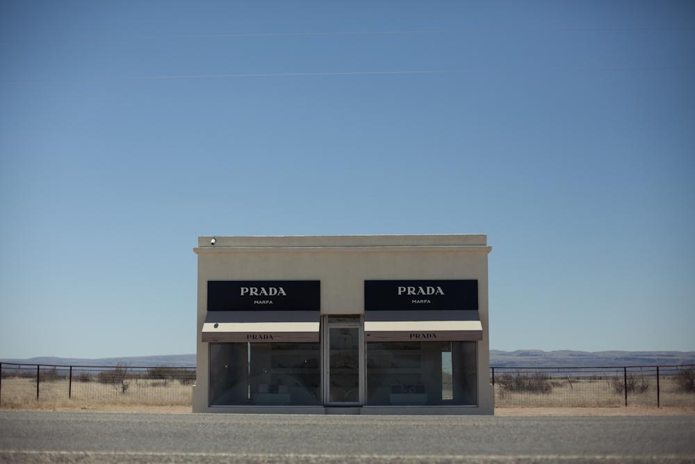 Prada Art Installation