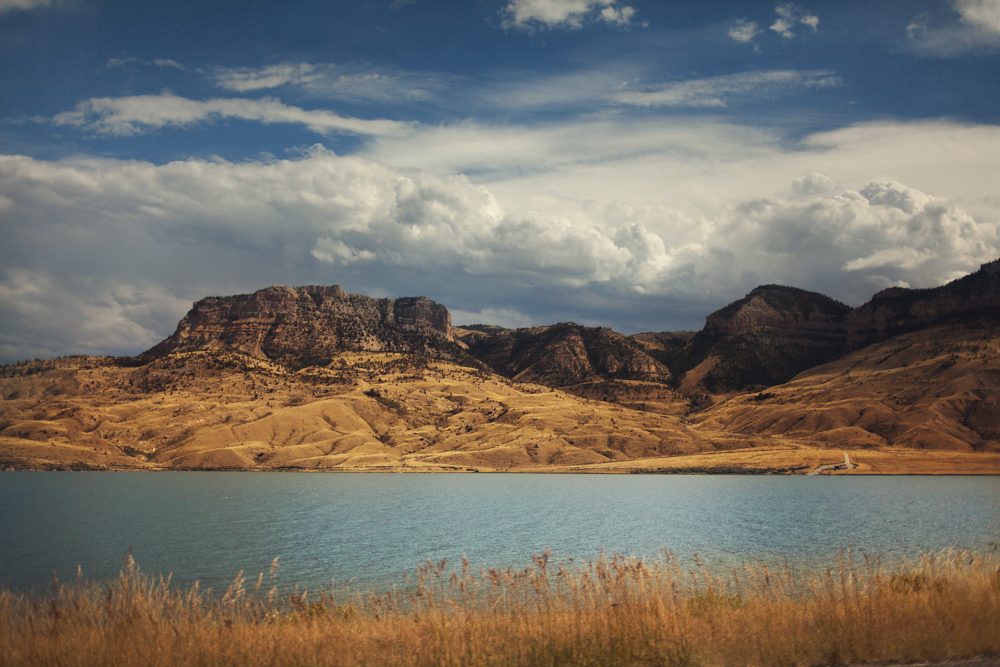 Heading east through Wyoming