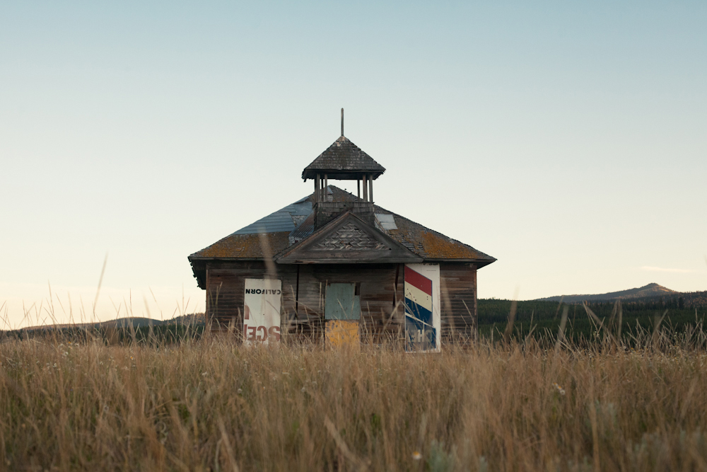 My dad and I had photographed this old schoolhouse on a family trip to the park in 2008, and I was so glad to find it still standing. It's a strange feeling to go back to a place that hasn't changed at all when you have changed so much.