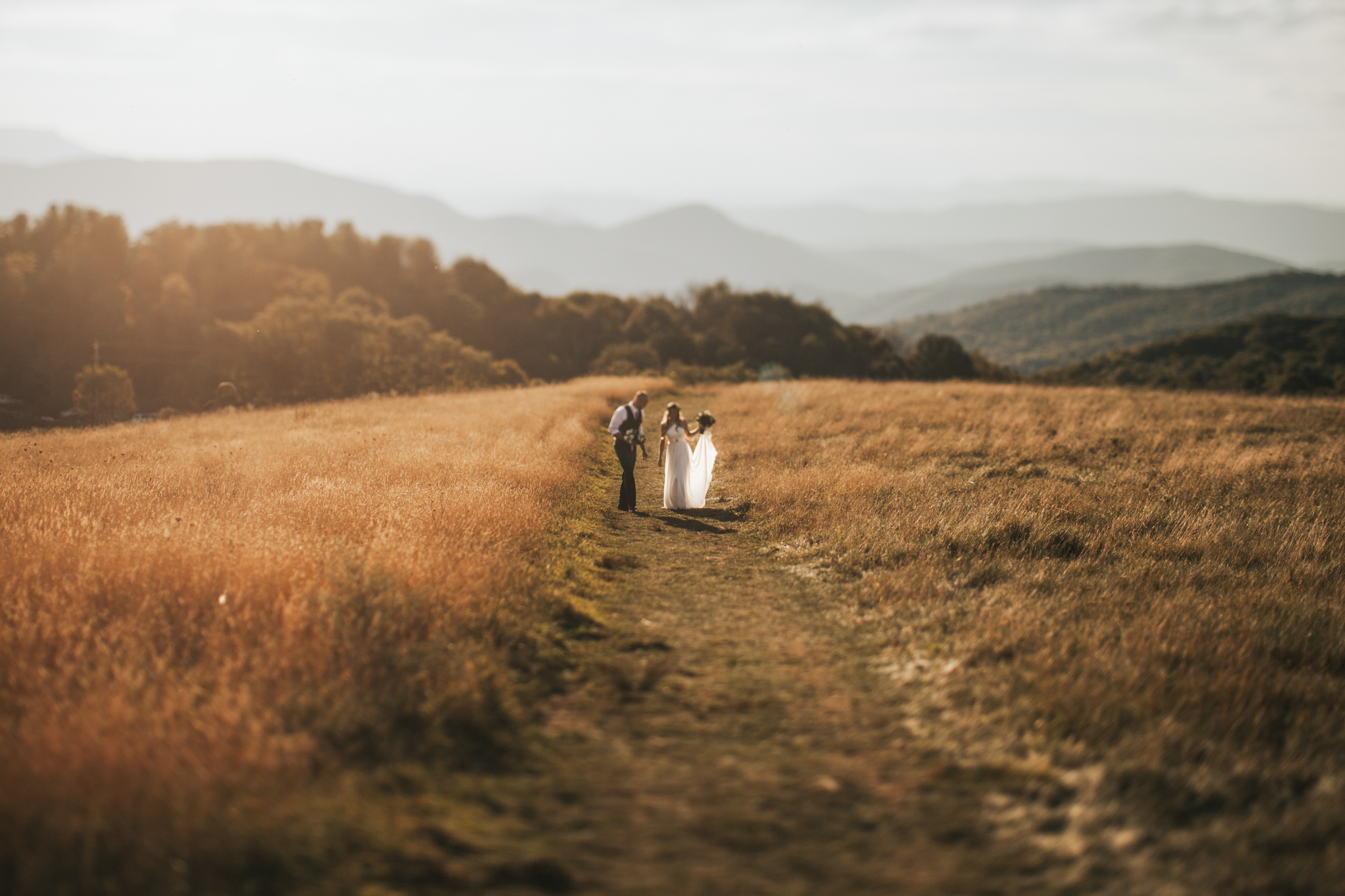 Max Patch Wedding Elopement Photography Photographer Asheville North Carolina Destination Mountains