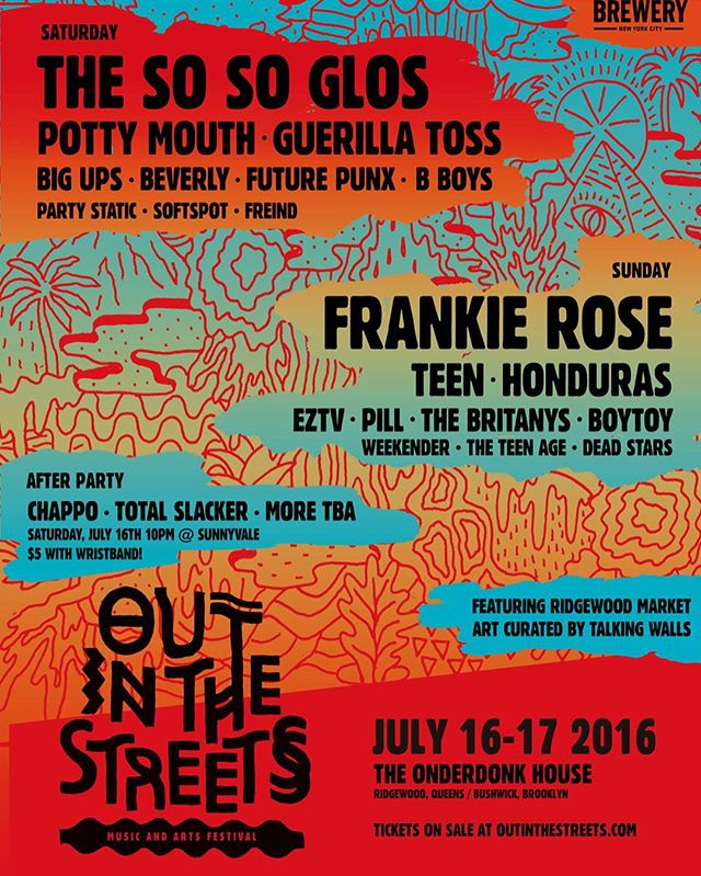 @outinthestreetsfestival #2016 is going to rule! #floatyfeelingblue