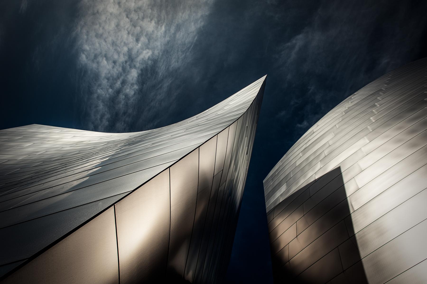 Walt Disney Concert Hall - Los Angeles -Copyright Angie McMonigal