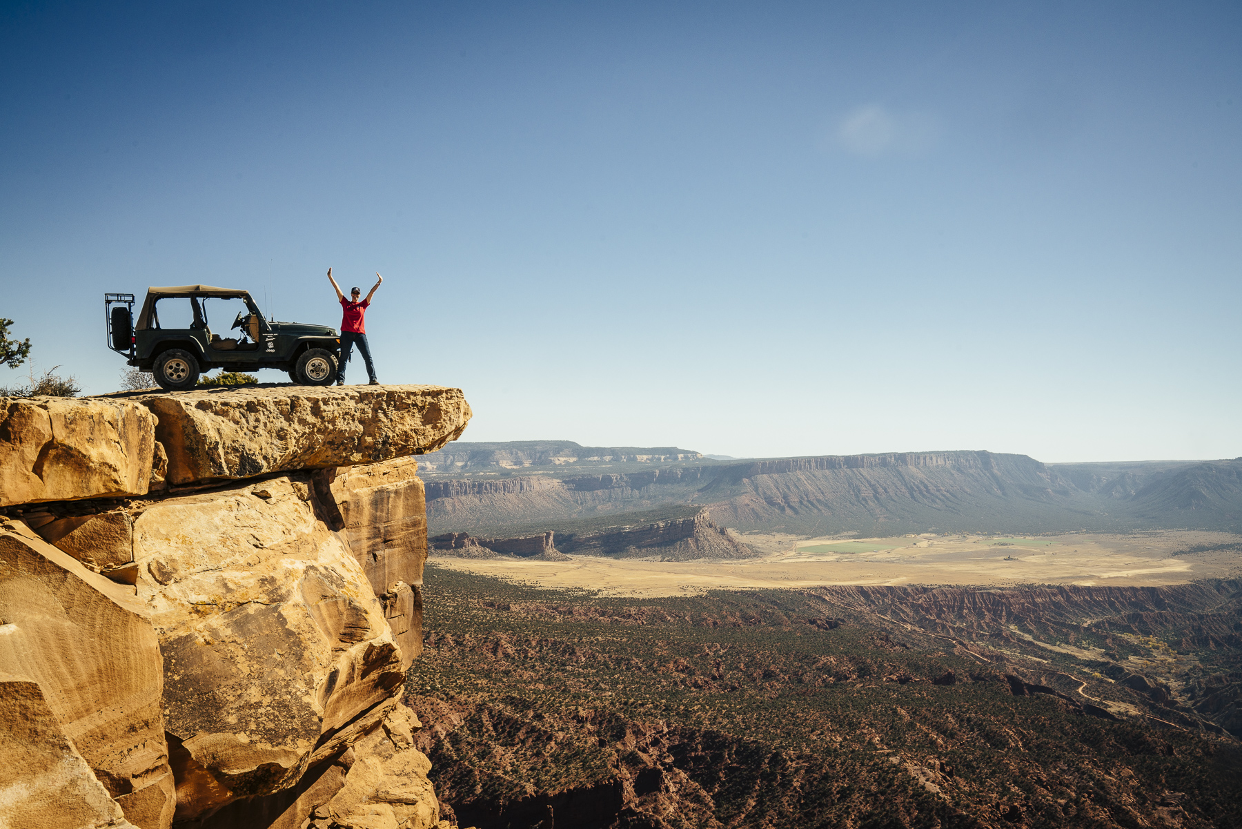 Friends On Top of the World - Moab, Utah