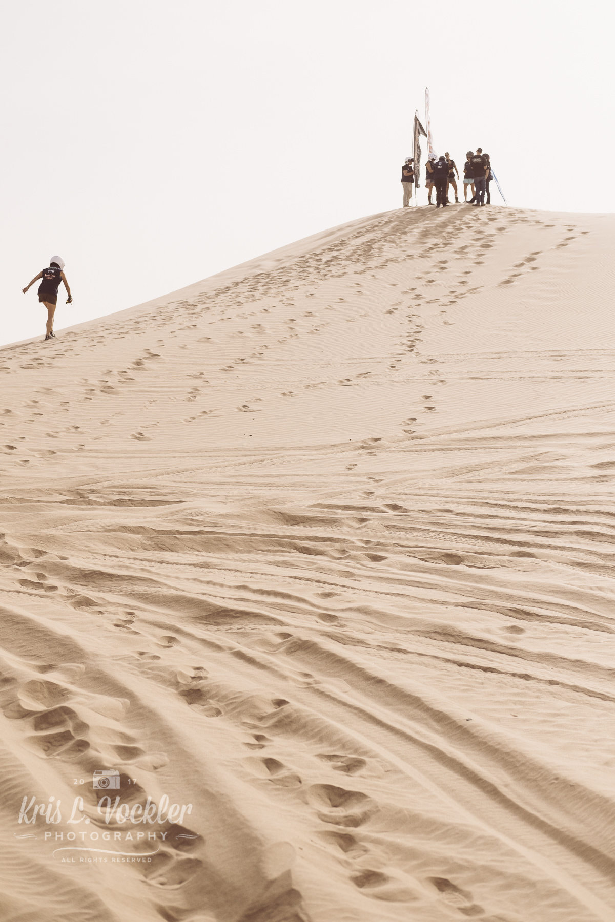 Finding Rebelle Rally checkpoints in Glamis Sand Dunes