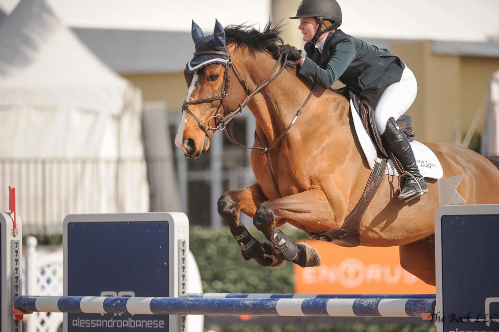 Maddy Thatcher aboard Show Show. Photo Courtesy of The Book LLC