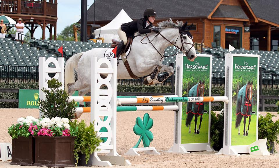 Congratulations to Grace Howard and Hiho Houdini for moving up to the 1.20m Low Junior/Amateur-Owner jumpers!  Please enjoy these behind-the-scenes photos at Tryon!
