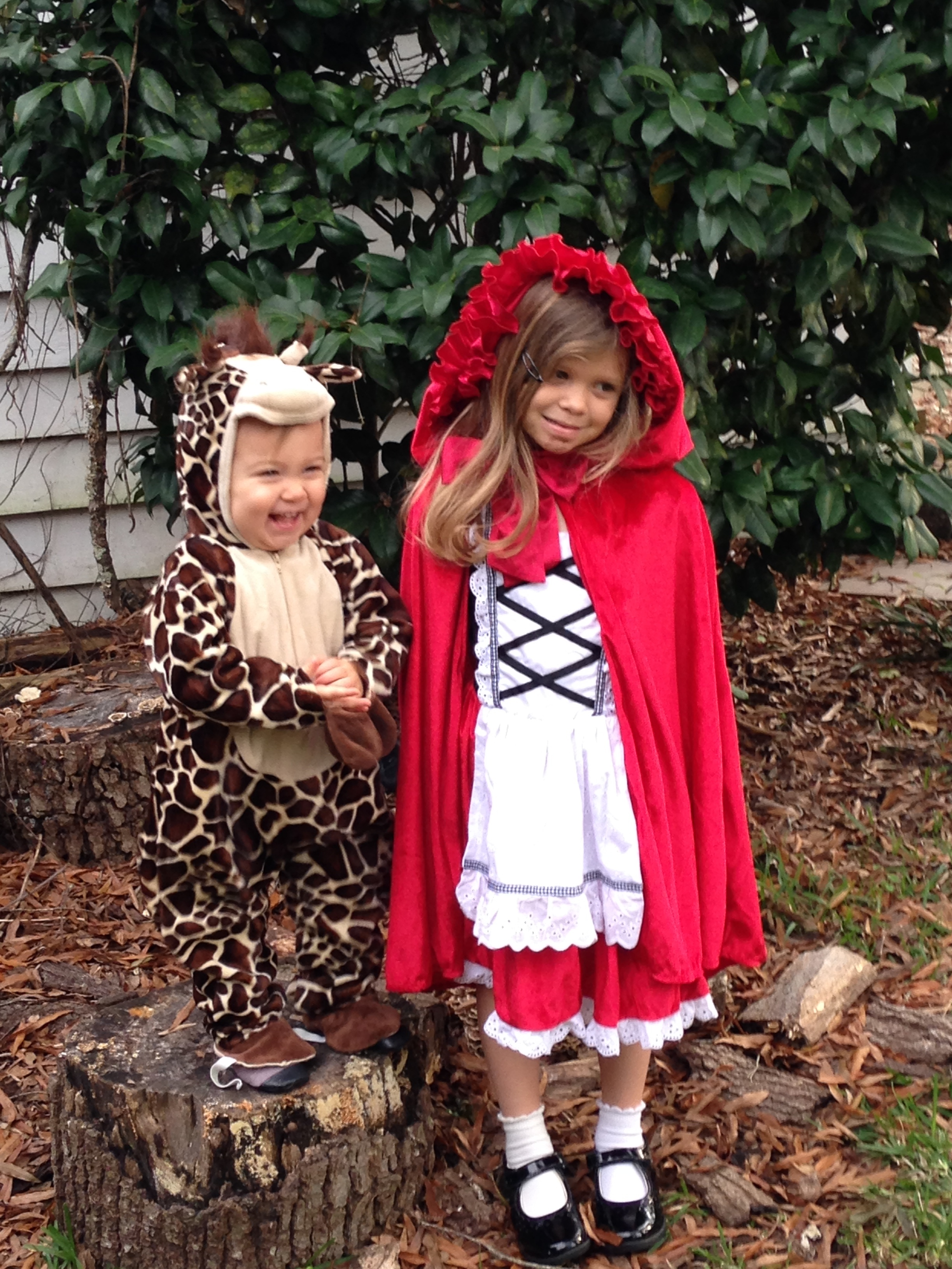 Happy Halloween from Adeline and Elle!