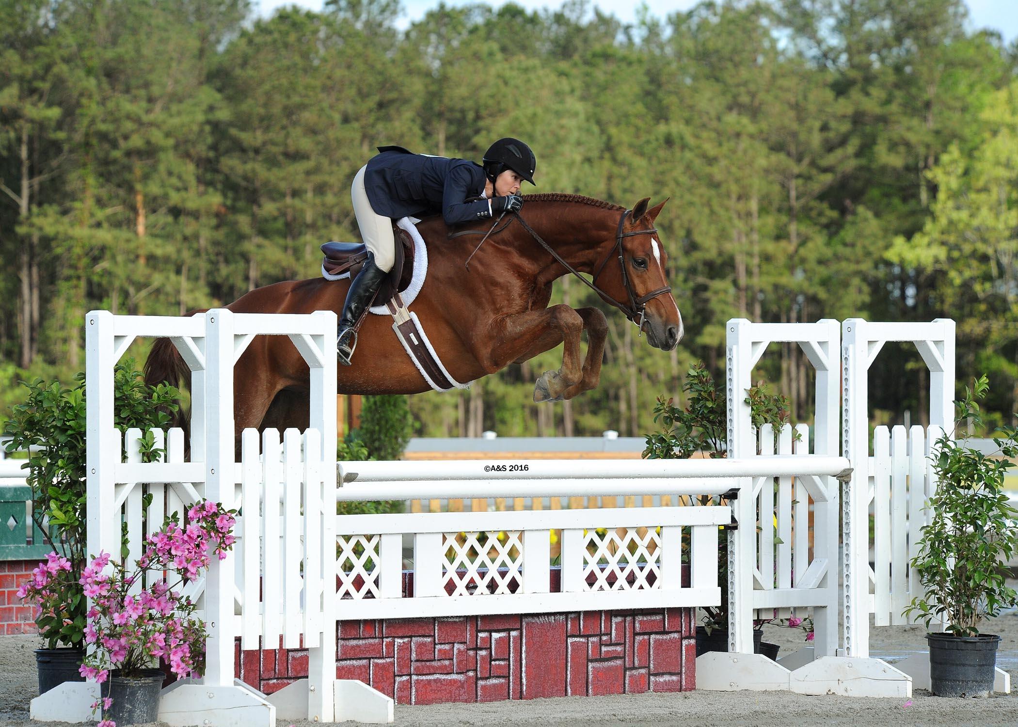Liza Boyd and Finally Farm's Shamrock (A&S Photography)