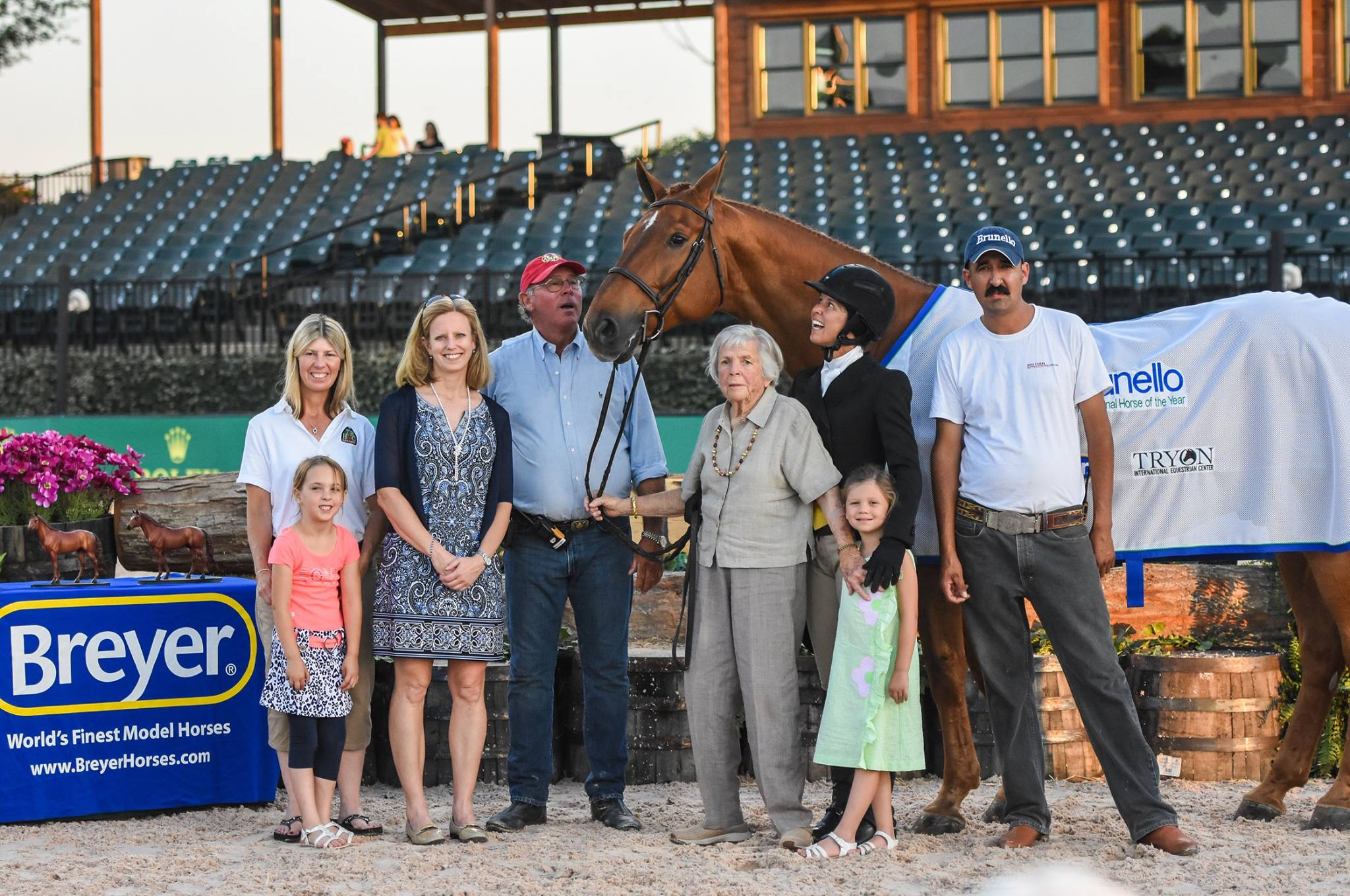 Brunello's Breyer Celebration at the Tryon International Equestrian Center