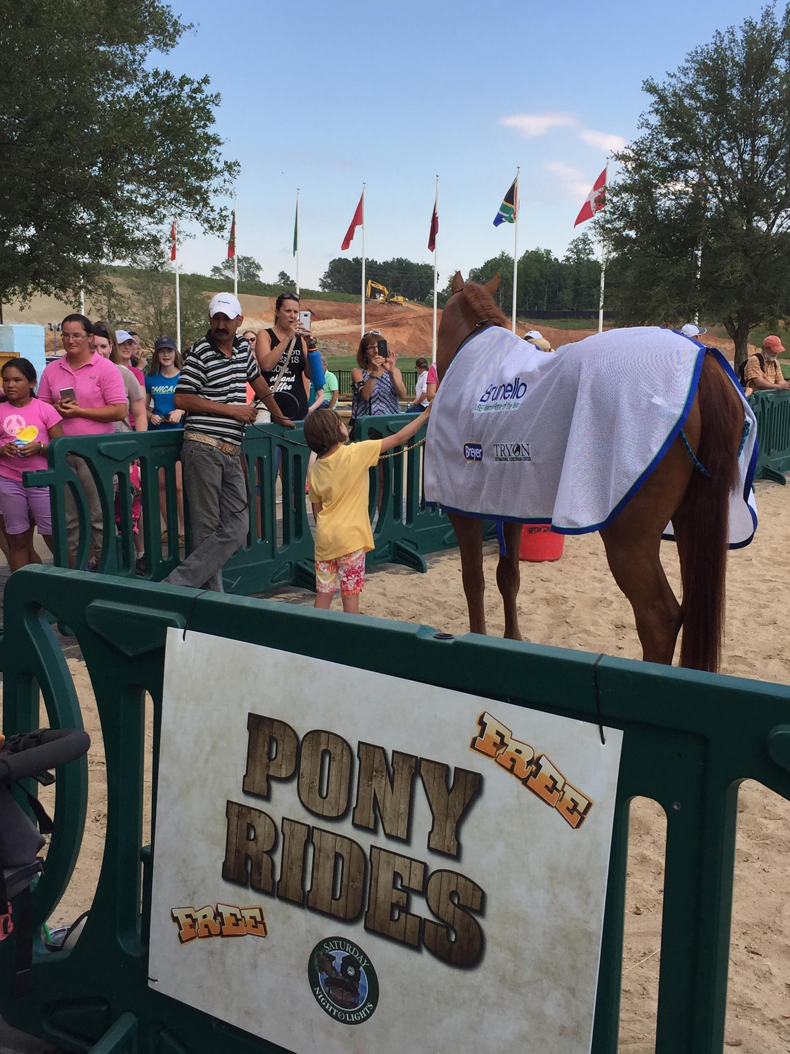 From Derby Champion to Pony Ride Pen!
