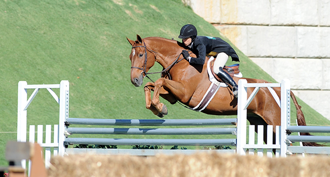 Brunello and Liza Boyd. The Chronicle of the Horse/Lisa Slade Photo
