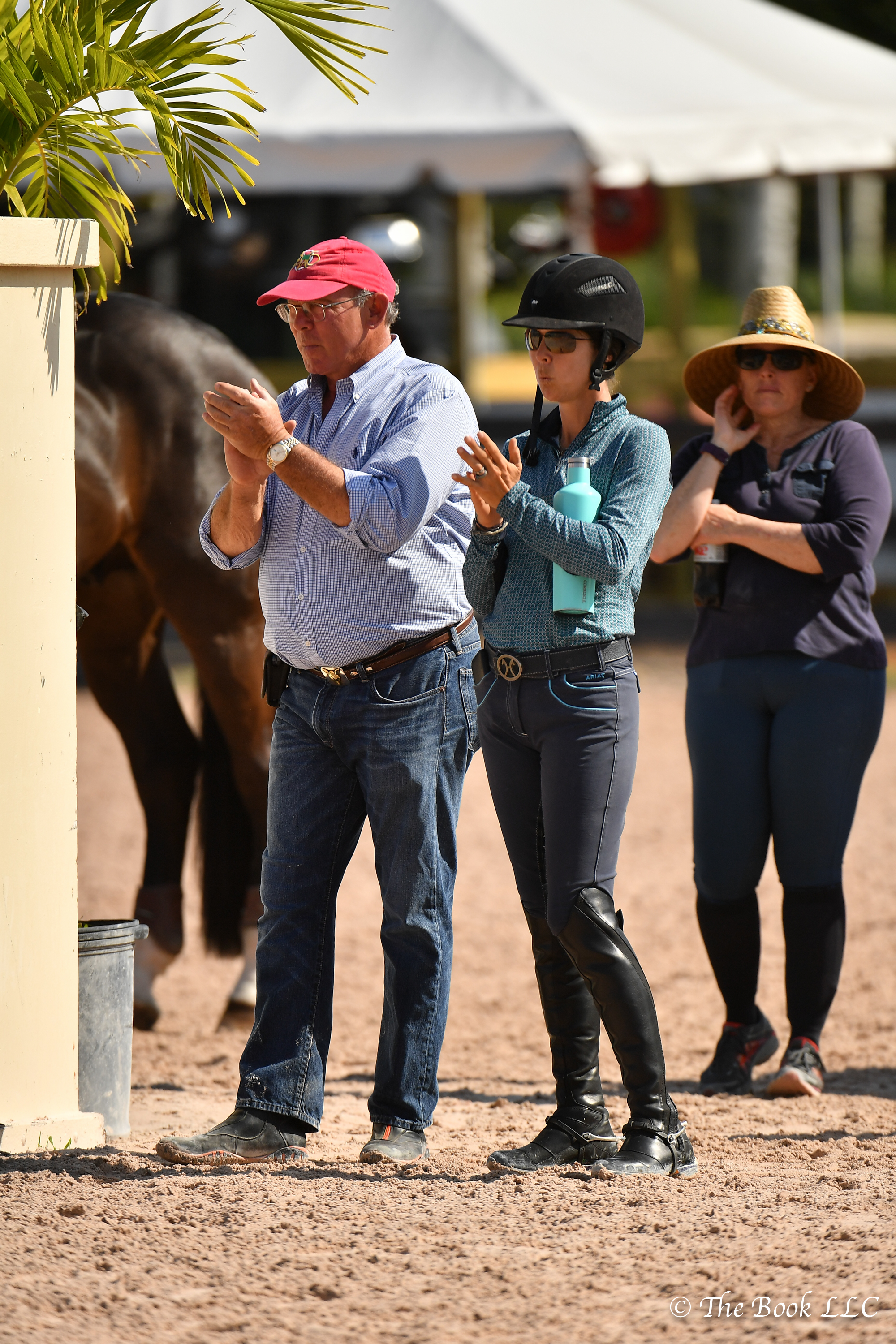 Jack Towell and Liza Boyd did a lot of cheering during WEF 4.
