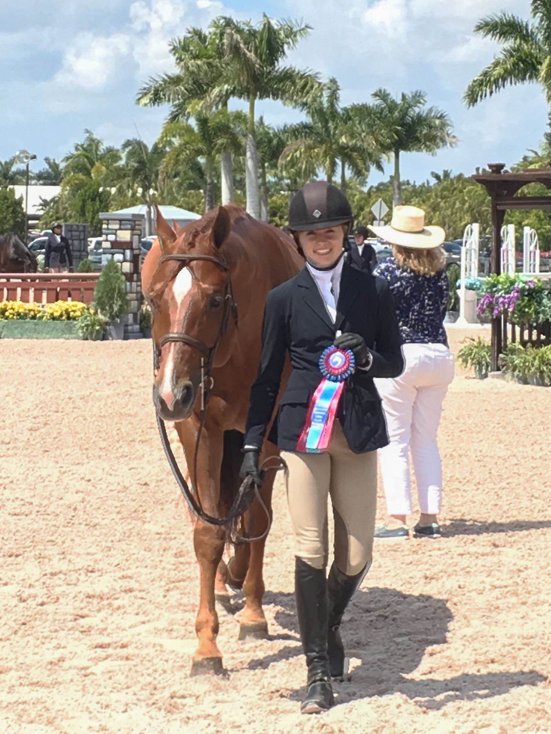 Maggie Hill and Shamrock