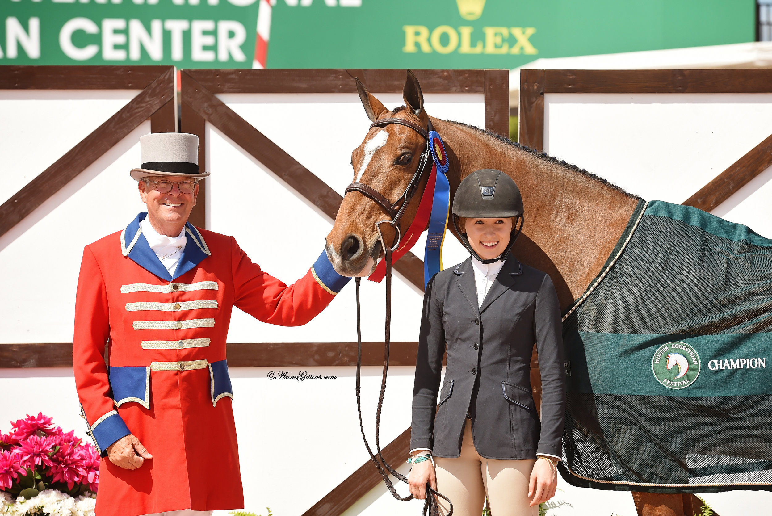 Maggie Hill and O'Ryan at WEF 2018