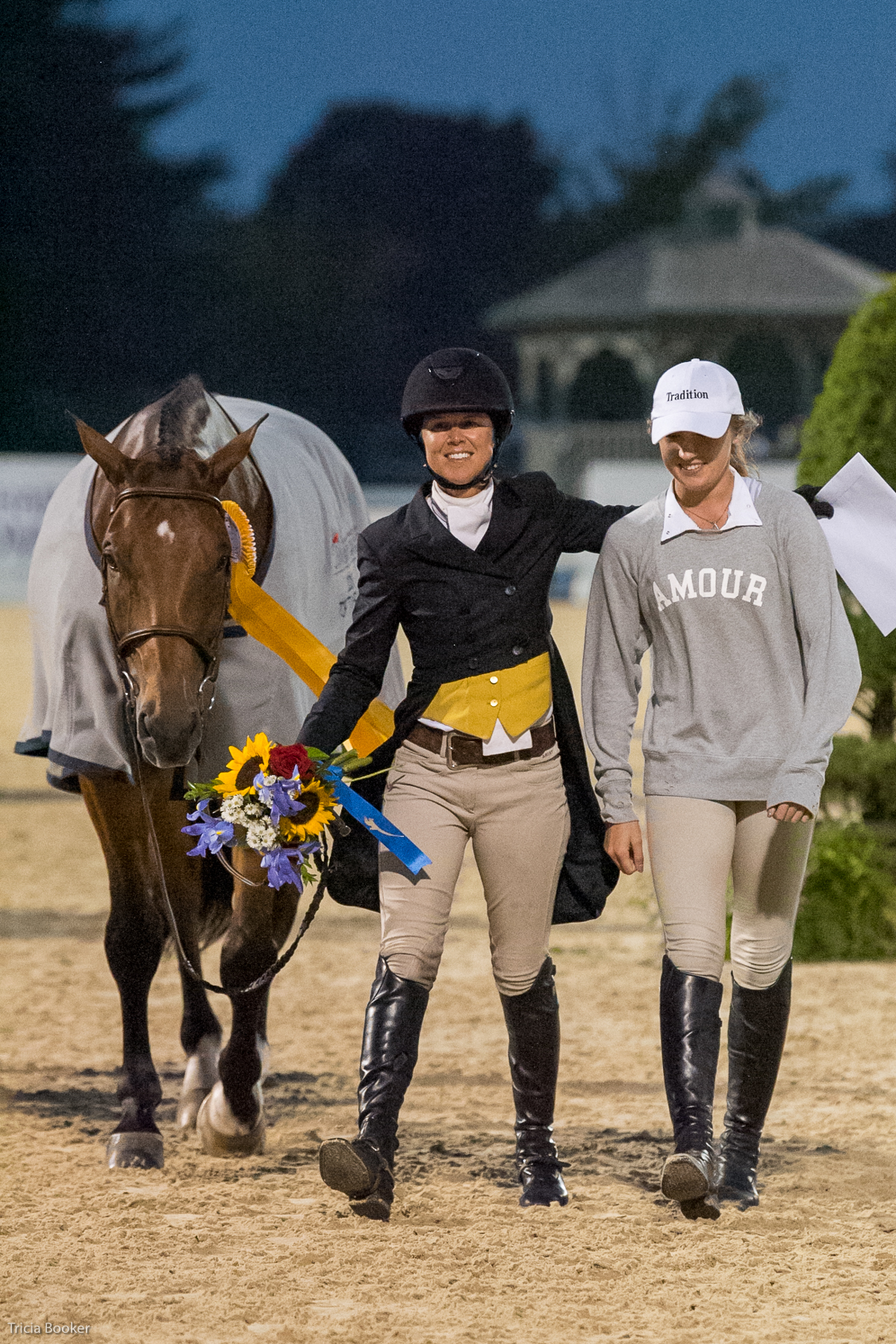 Liza Boyd and Tradition with owner Maggie Hill.
