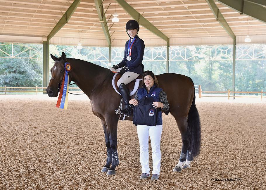 Maggie Hill, Equitation 15-Year-Old Champion