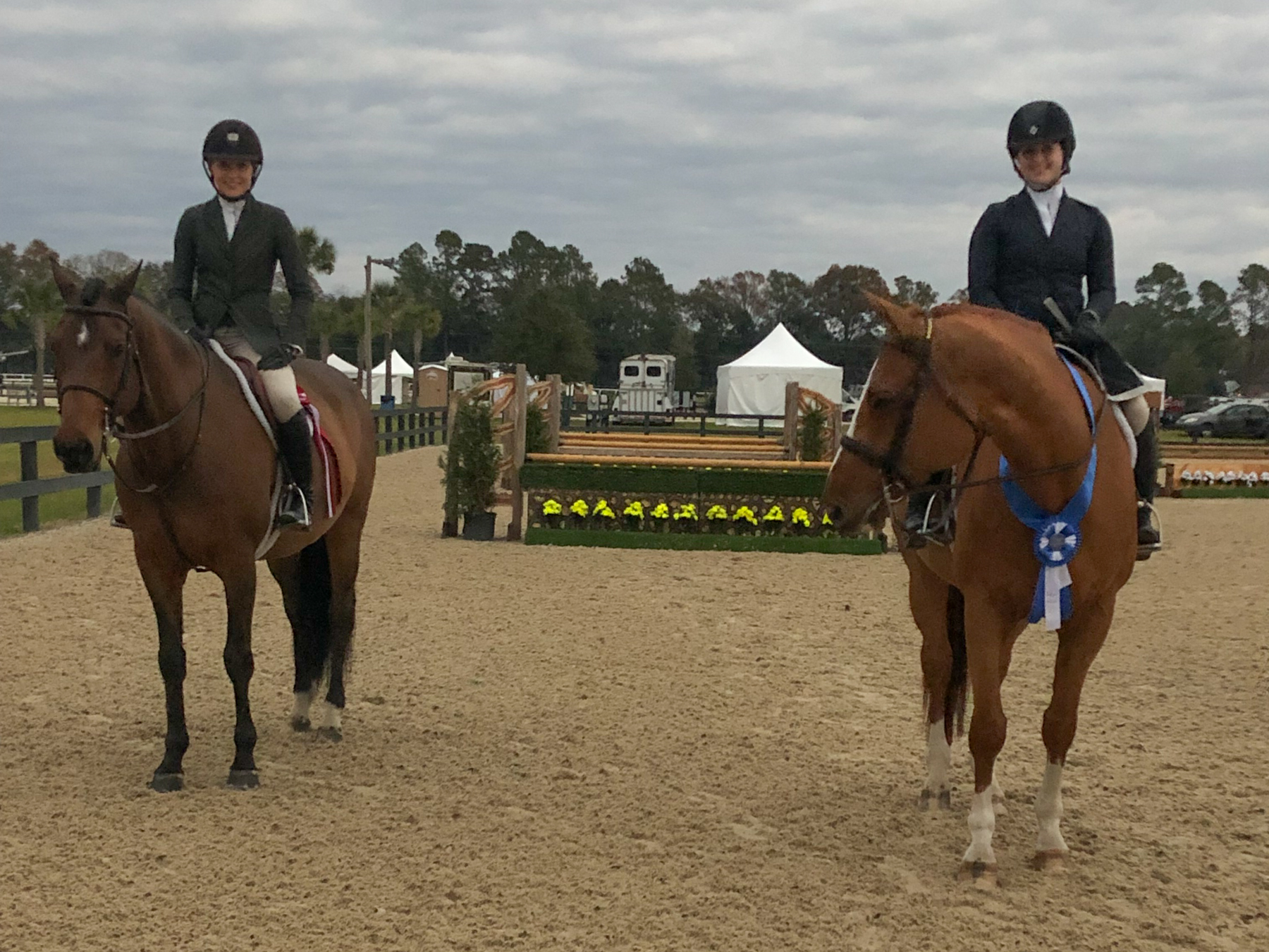 Maggie Hill and Charmeur with Libbie Gordon and Tybee