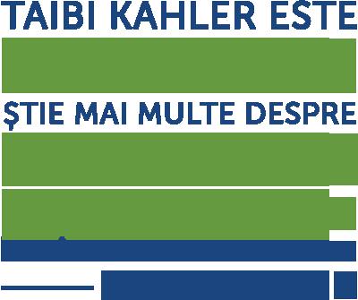 """""""Taibi Kahler este un geniu. Știe mai multe despre dinamica personalității decât oricine altcineva."""" - Bill Clinton"""
