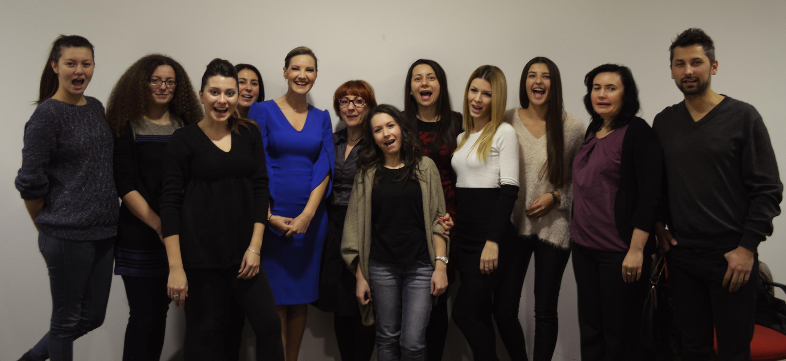 Participanții din grupa nr. 27. Noiembrie 2014