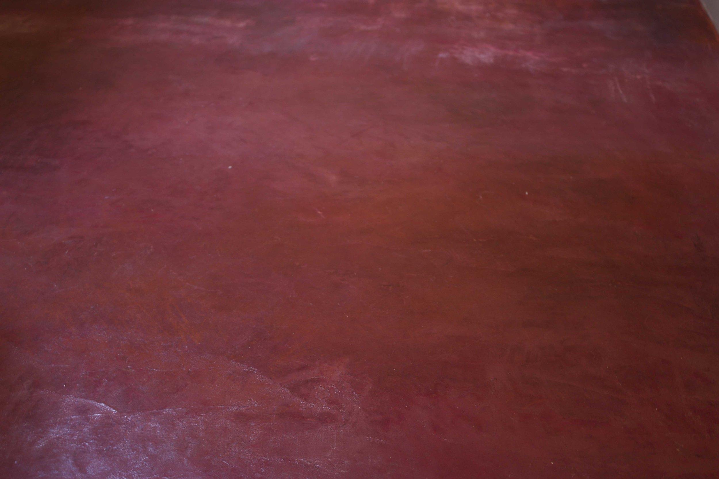 Red Floor Detail