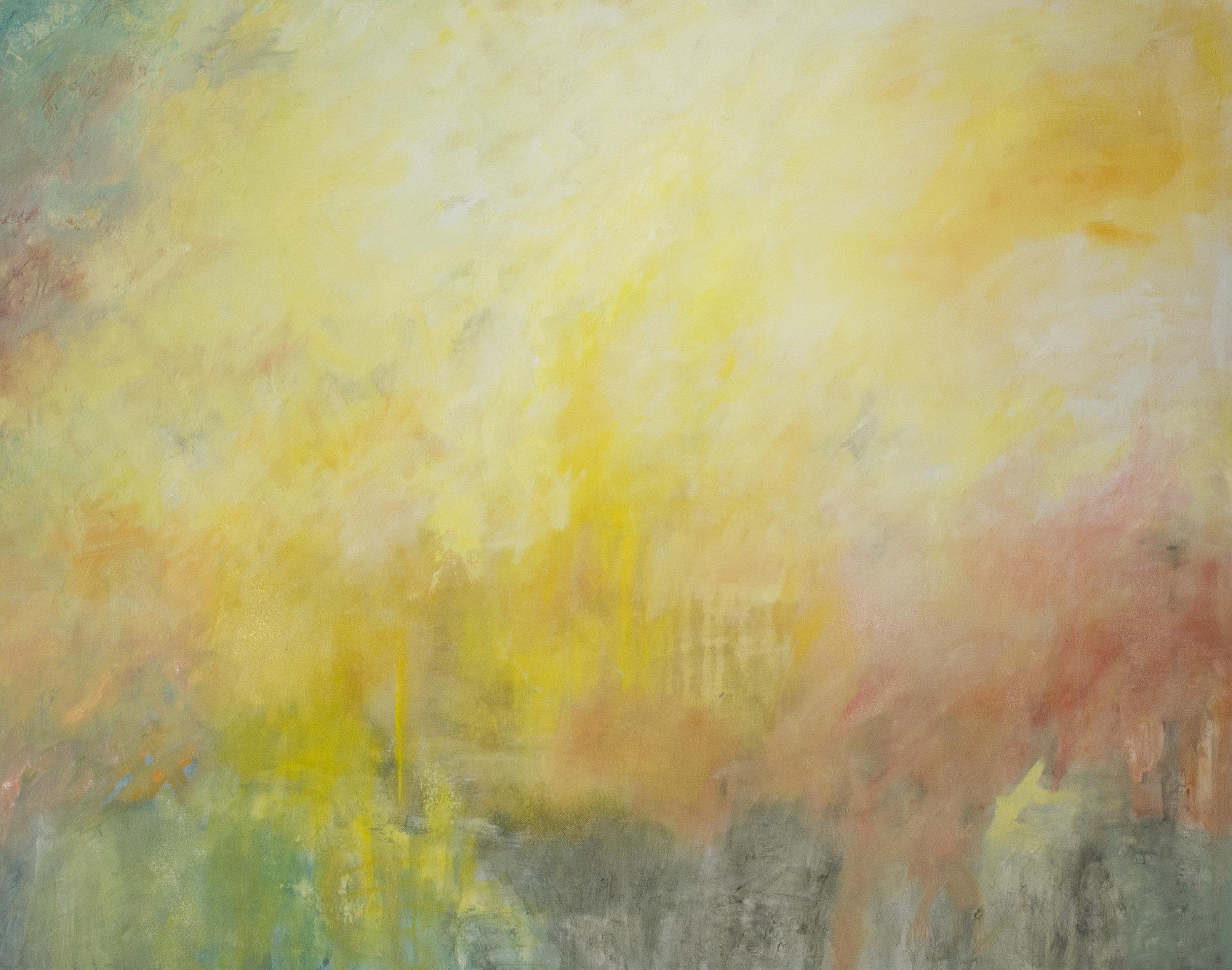 "Oil on Canvas, 37"" x 48"" 2018"
