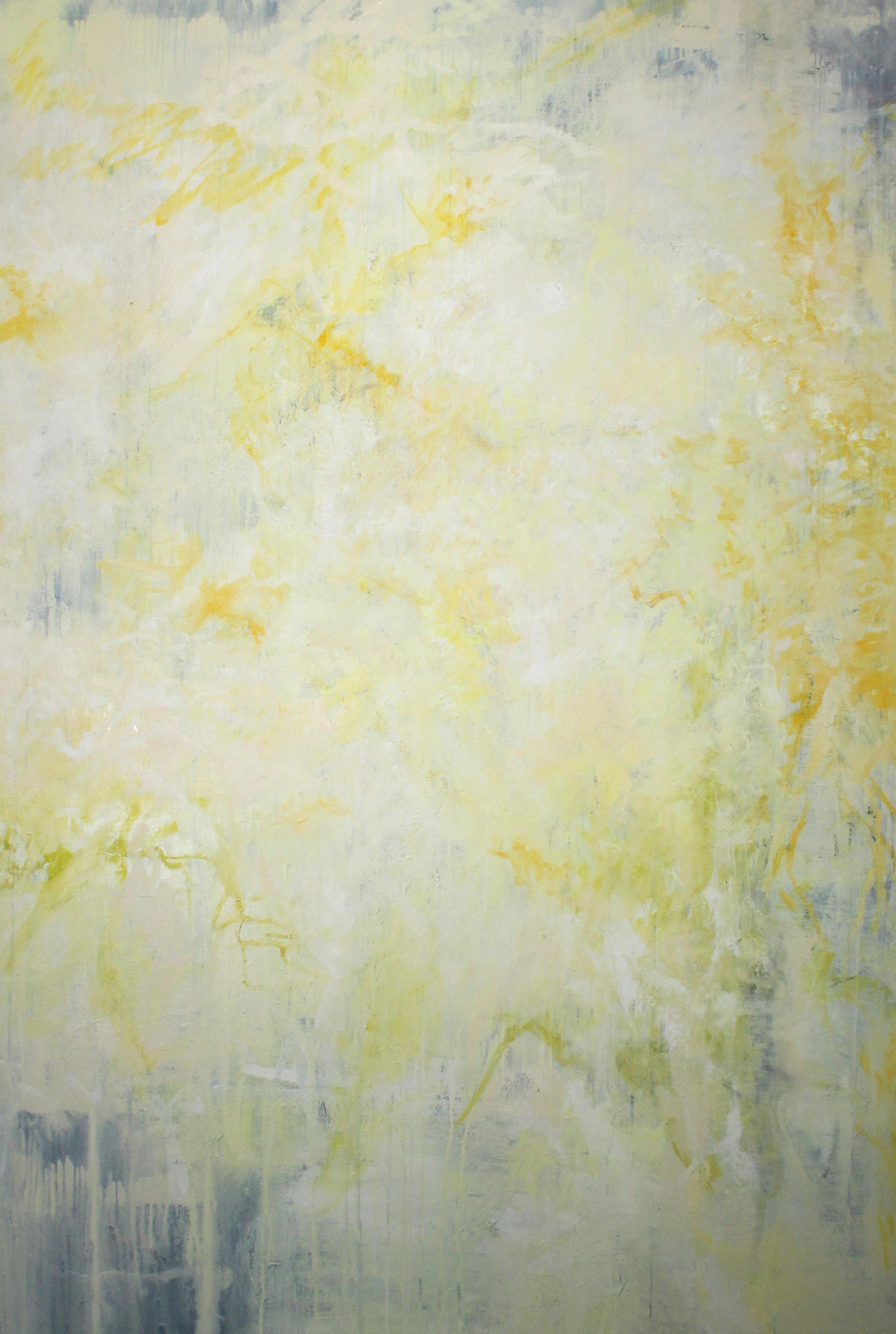 "Oil on Canvas 48"" x 72""2018"