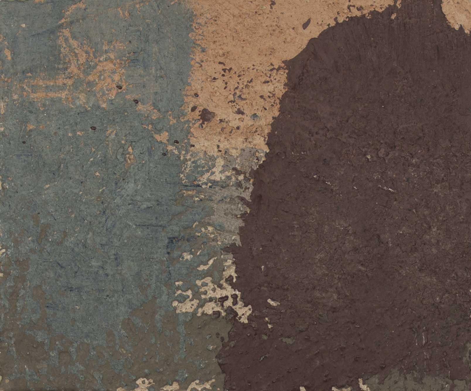 "Mixed Media on handmade plaster  12"" x 16"" 2018"