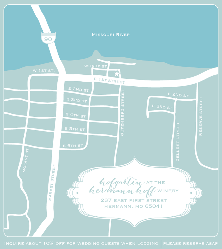 custom wedding invite flowers floral peony invitation ferns nonna design illustration map hermann.png