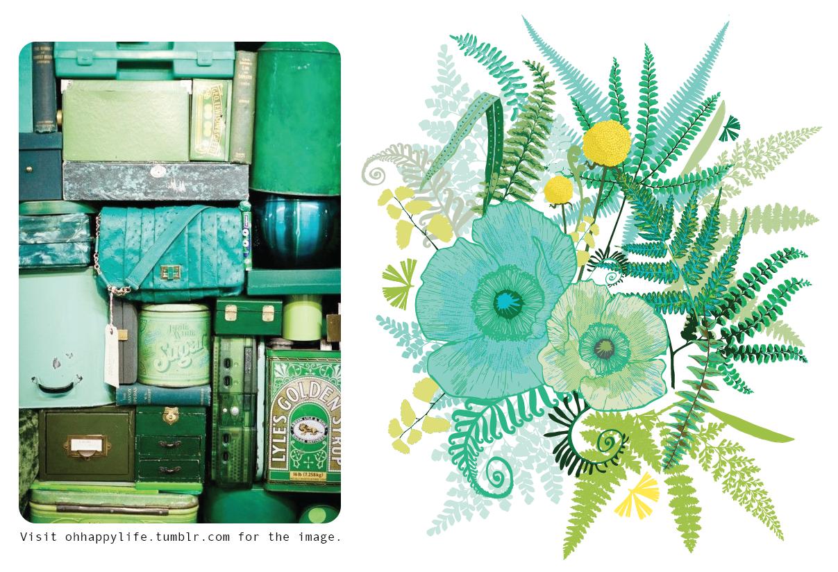custom design surface pattern flowers floral poppies poppy ferns inspiration nonna design illustration.png
