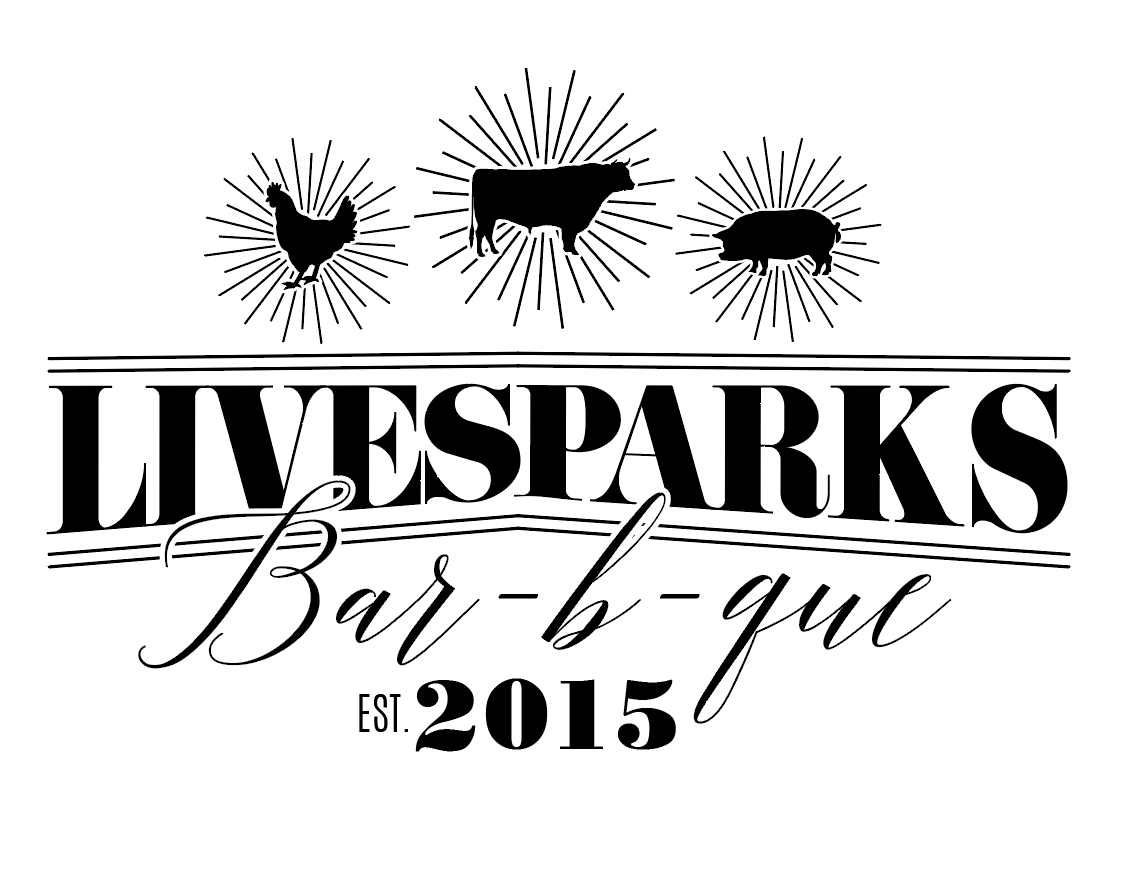 Live Sparks BBQ Logo 2017