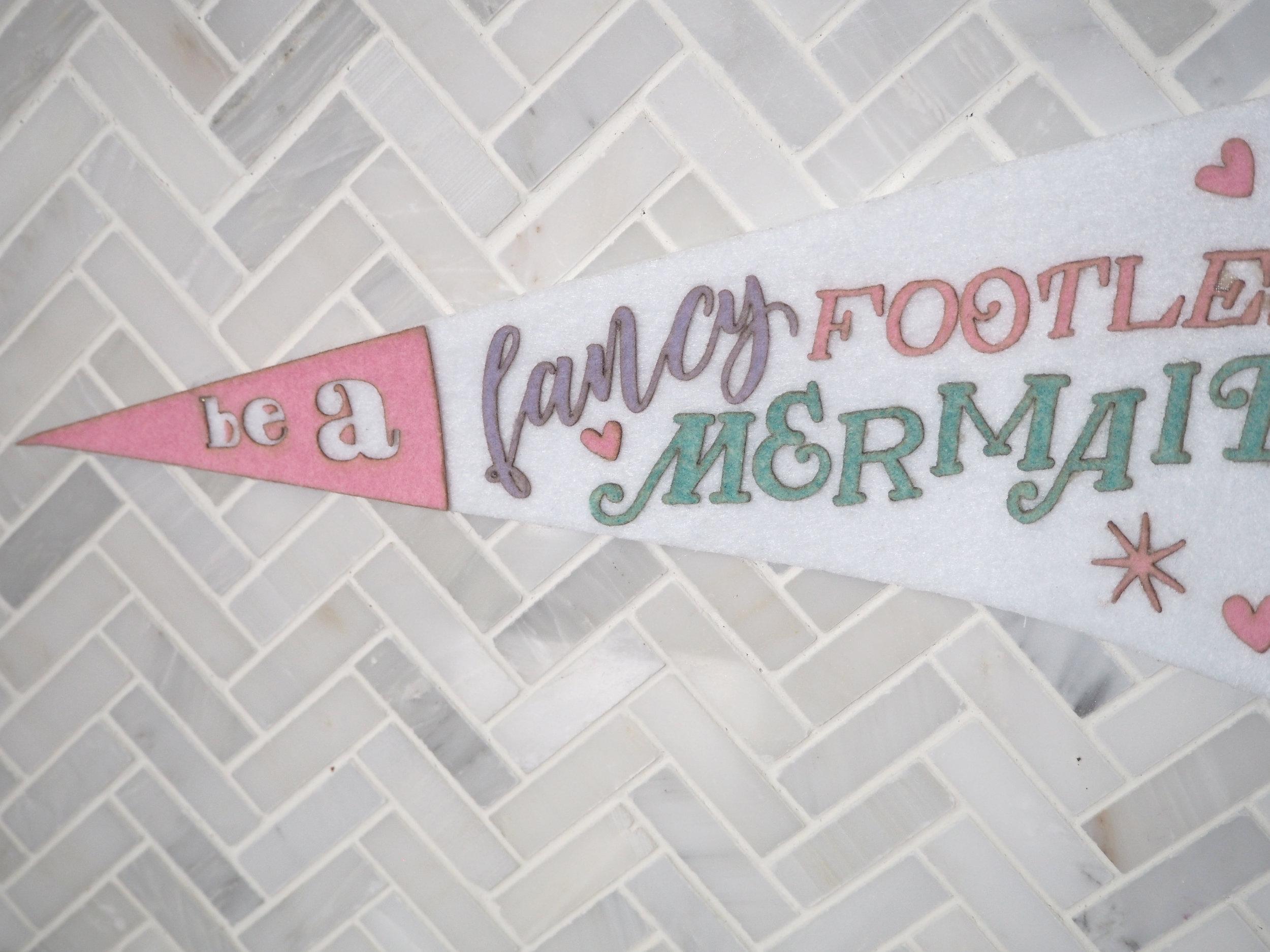 Felt Pennant Banner
