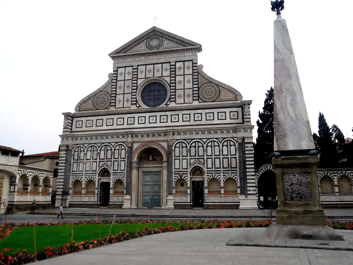 Santa Maria Novella in Florence (Firenze), photo by me.