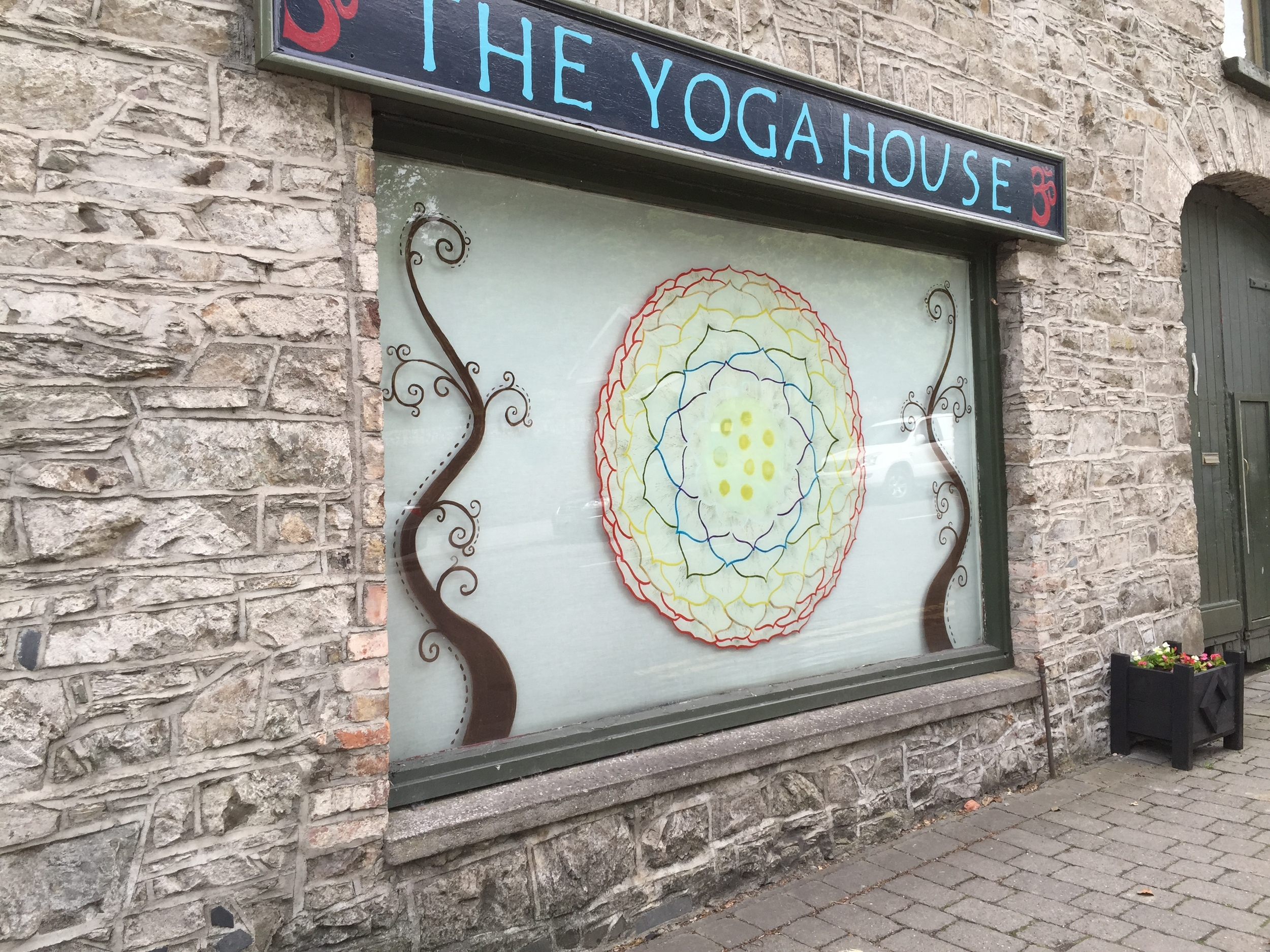 Yoga studio in Lismore.