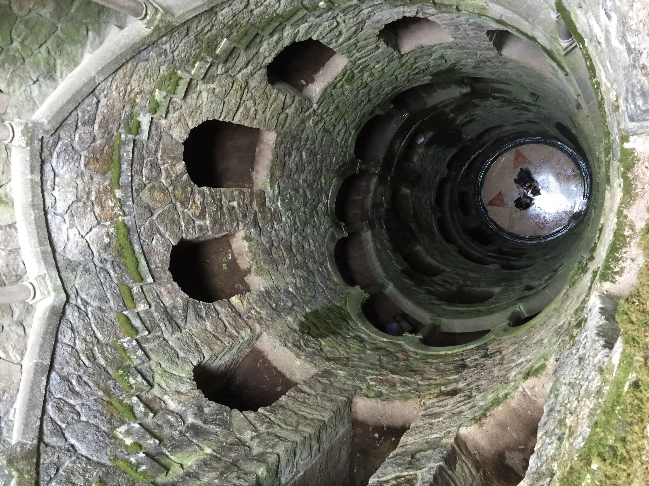 Teaser photo for Sintra. The well of the initiates located on the grounds of the Quinta Da Regaleira.