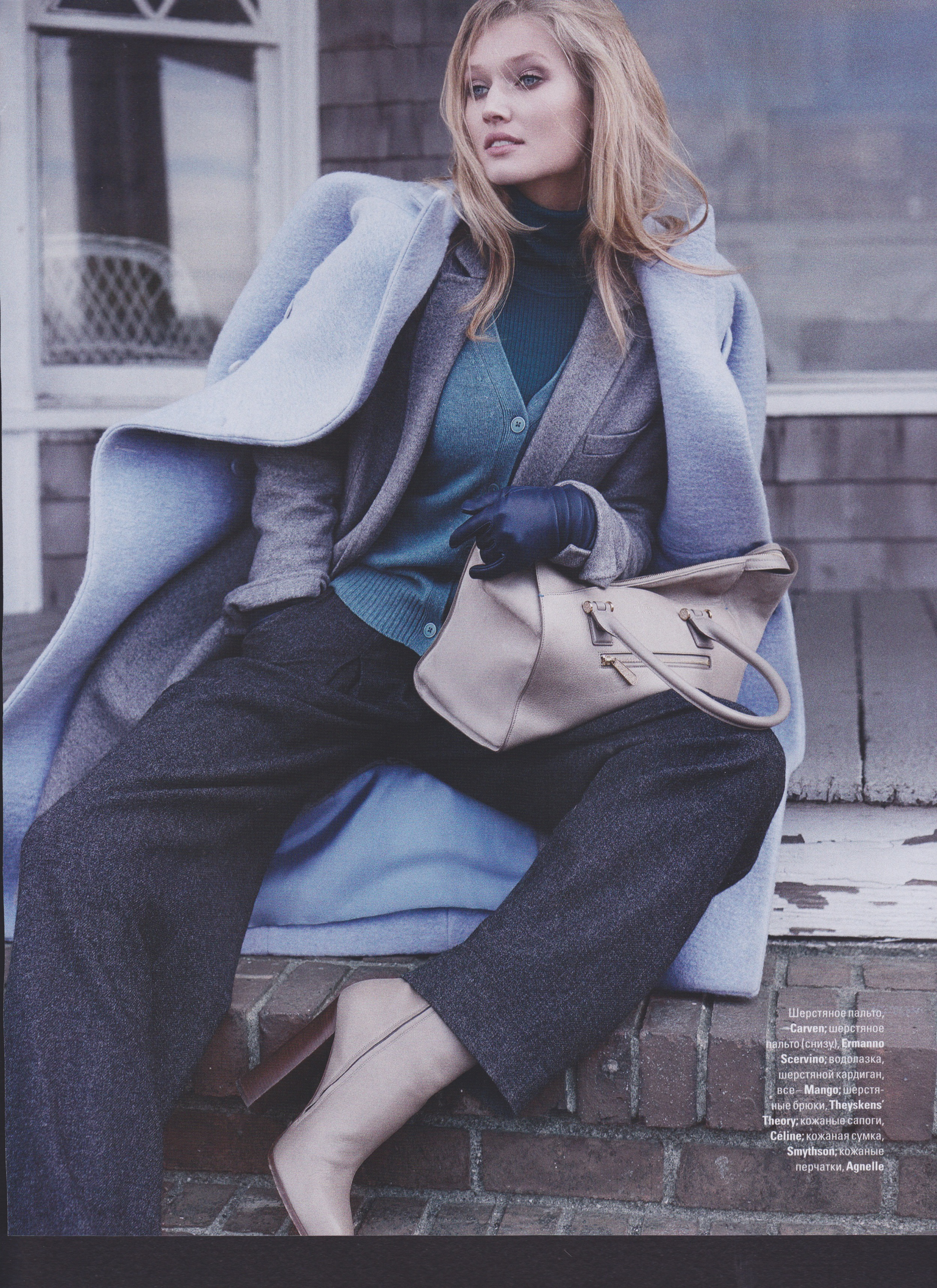toni garrn photo shoot for vogue ukraine by benny horne and county fair productions 9