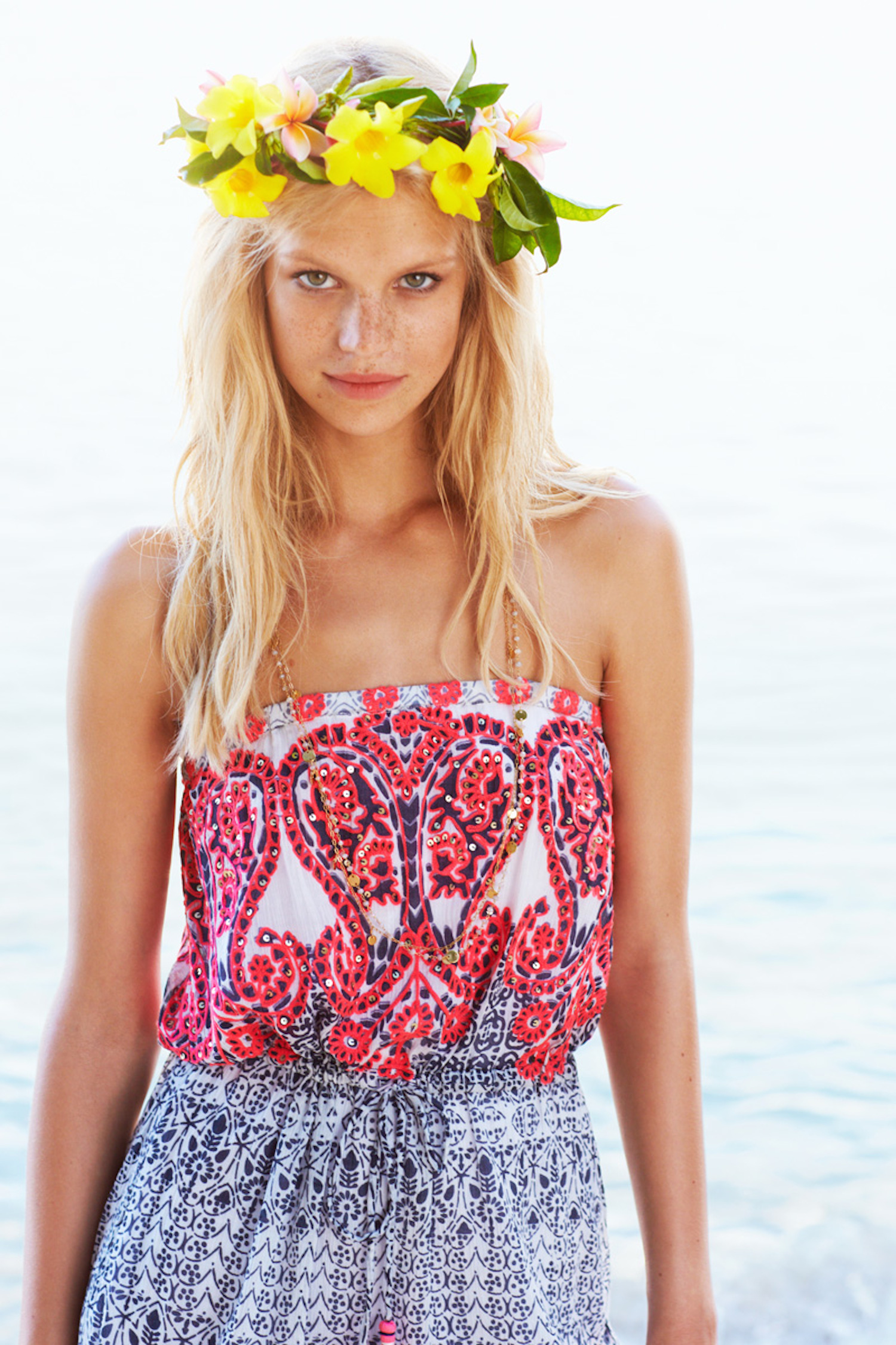 flowers and calypso st barth in barbados with nadine leopold and matt jones