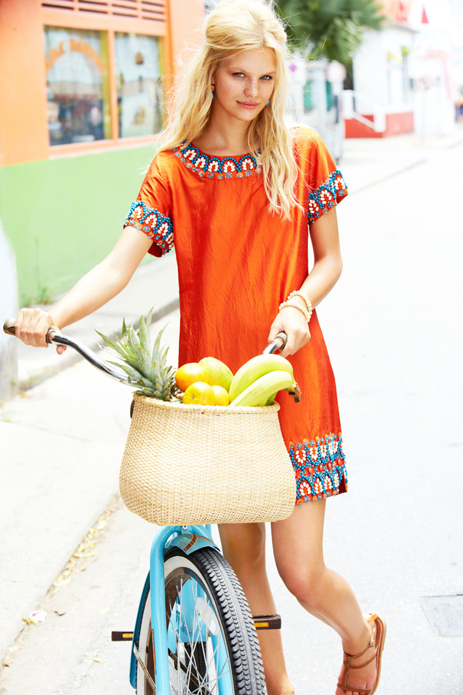 on a bike calypso st barth in barbados with nadine leopold and matt jones
