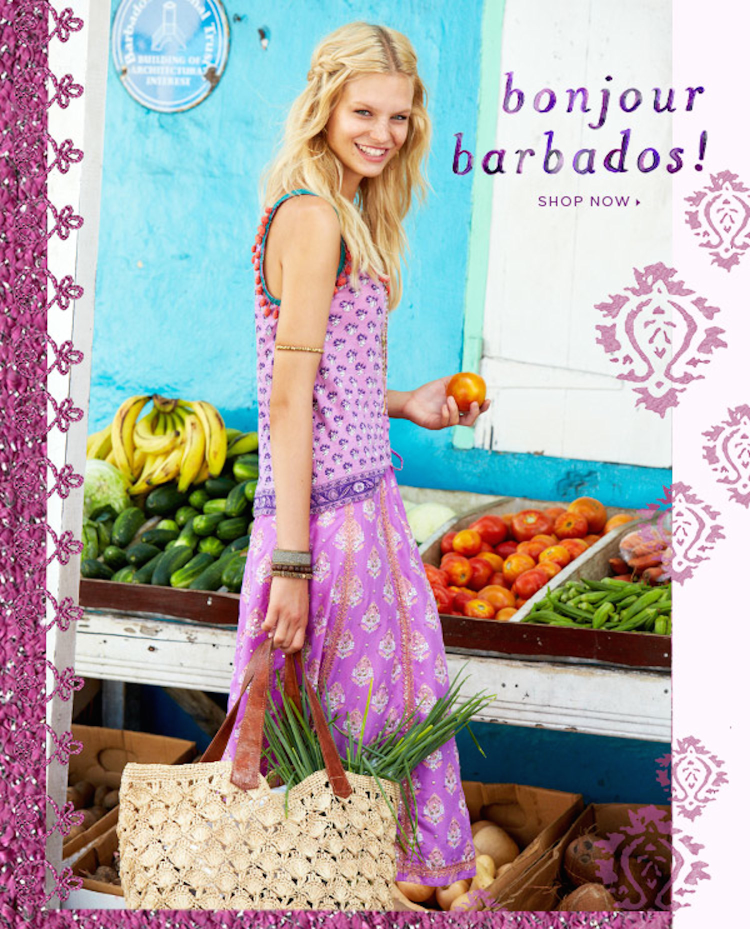 cover calypso st barth in barbados with nadine leopold and matt jones