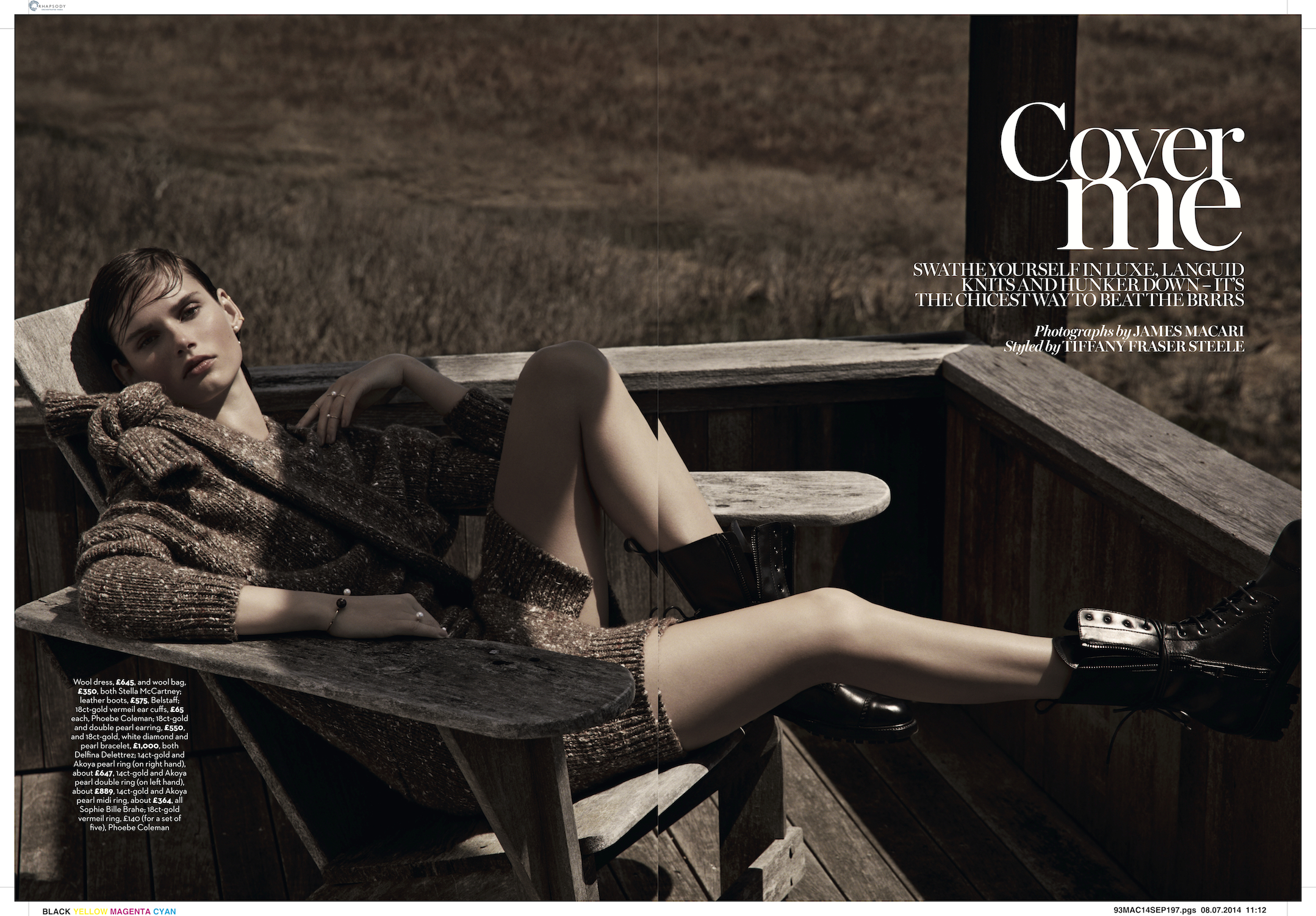 marie claire uk photo shoot by james macari and county fair productions in the hamptons 1